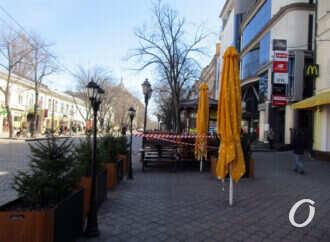 Одесса краснозонная: как проходит локдаун в центре города (фоторепортаж)