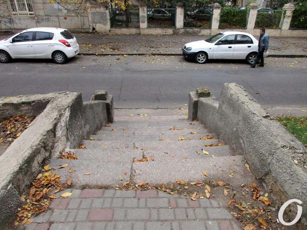 сквер Регенсбург, лестница