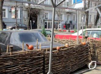 Одесская улица Гаванная: смешение стилей и жанров, львиные морды и немного сельского колорита (фоторепортаж)