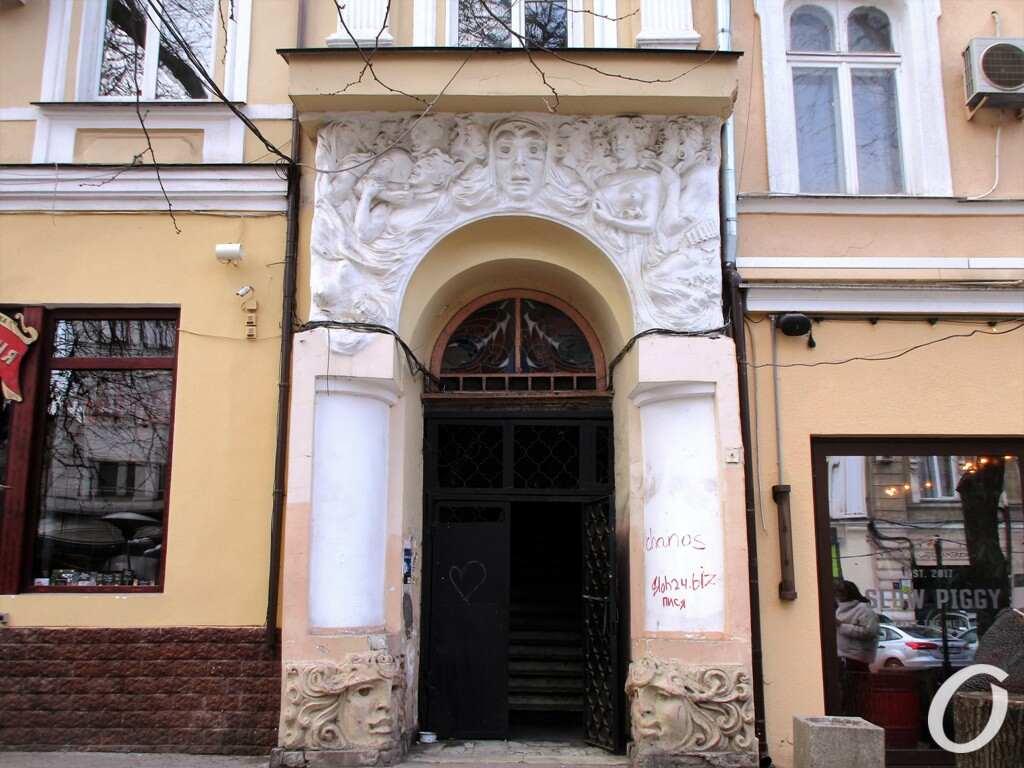Улица Гаванная, двери