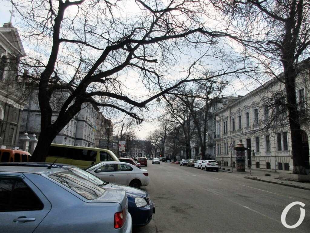 Улица Гаванная, машины