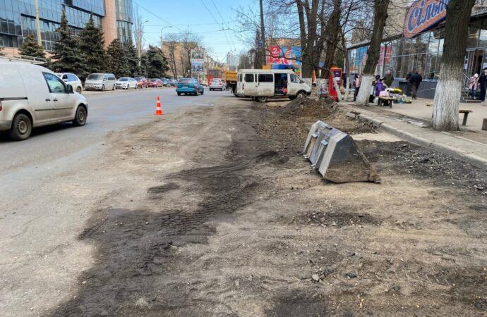Ремонт одесской улицы Черняховского: о велосипедных дорожках забыли