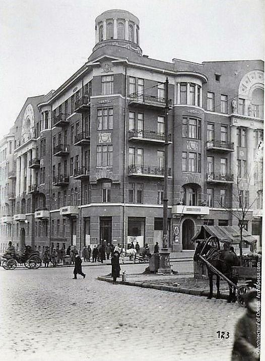 Дом Асвадурова, старое фото