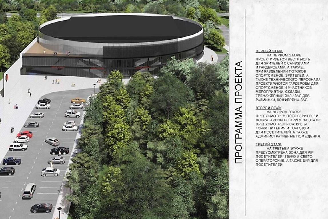 Новый Дворец спорта в Одессе, визуализация