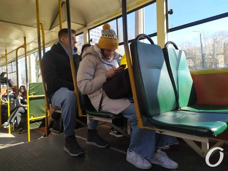 карантин в одесском транспорте