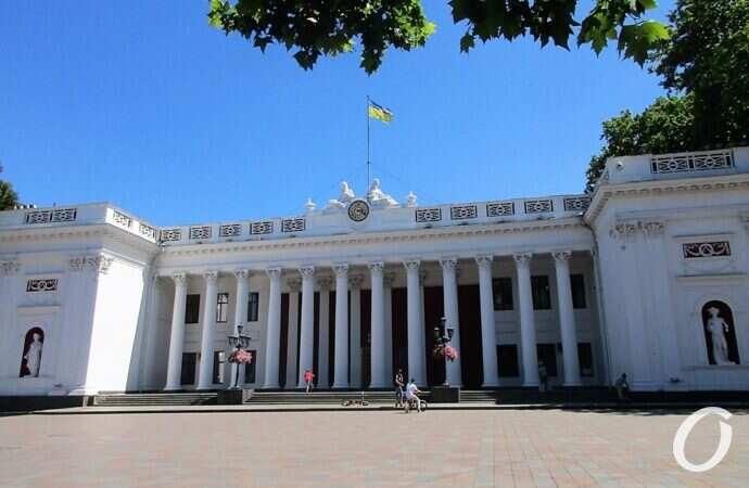 В Одессе собираются реставрировать здание мэрии – Старой биржи