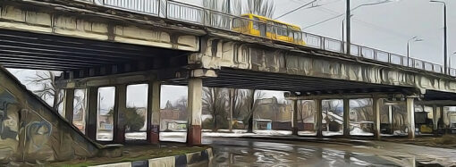 В Одессе собираются пустить пассажирский транспорт в объезд Ивановского моста (видео)