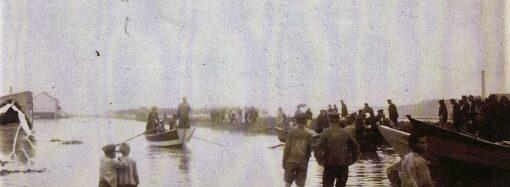 Незнакомая Одесса: Глухой мост, уникальные рельсы и страшный потоп 1908 года (фото)