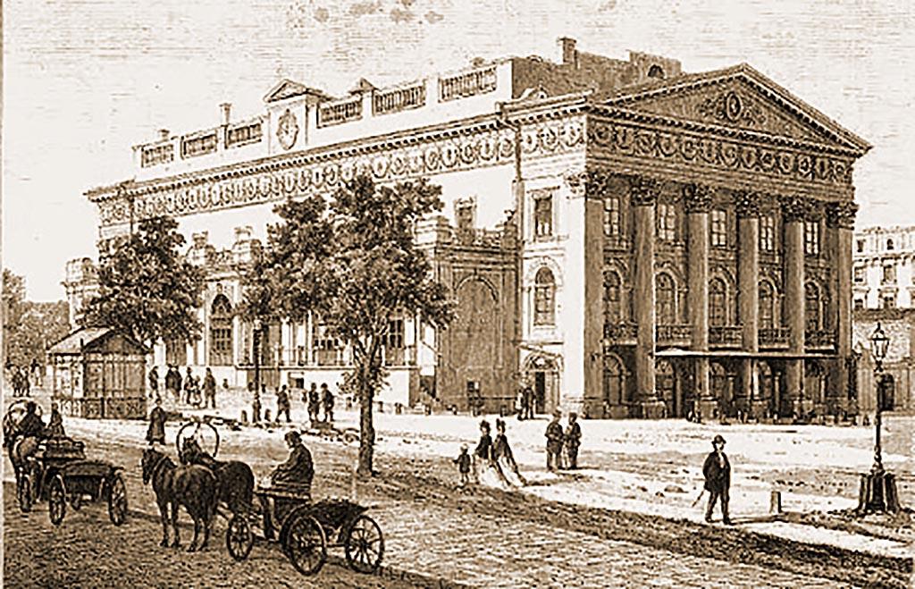 Одесса театр ХІХ век