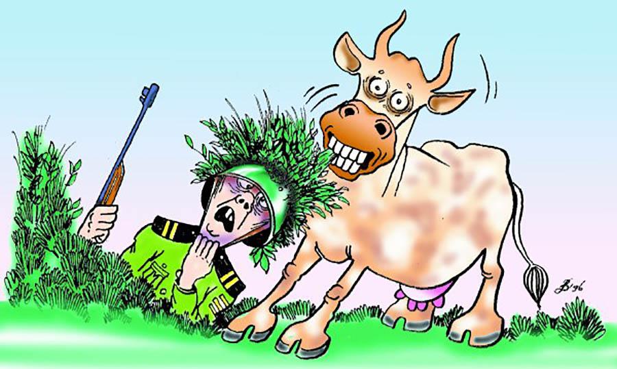 Карикатура Виктор Джевага