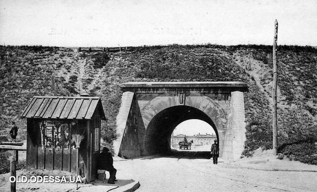 Старая Одесса, туннель