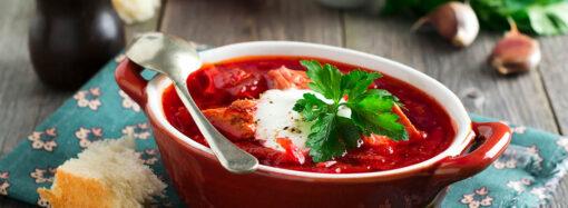 Два знаменитых рецепта борща: из свеклы с вином и малороссийский