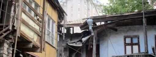 Одесская мэрия проверит состояние обвалившегося дома на Среднефонтанской