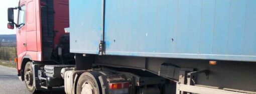 В Одесской области фура раздавила лежавшего на дороге мужчину