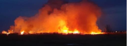Пожар в Измаиле: огонь было видно из всех районов города (фото, видео)