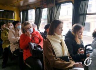 Одесская маршрутка: как горожане соблюдают масочный режим (фото)