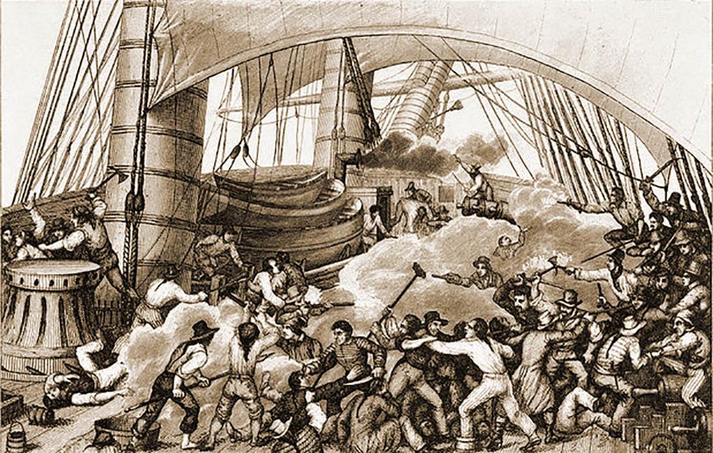 морская битва 18 век