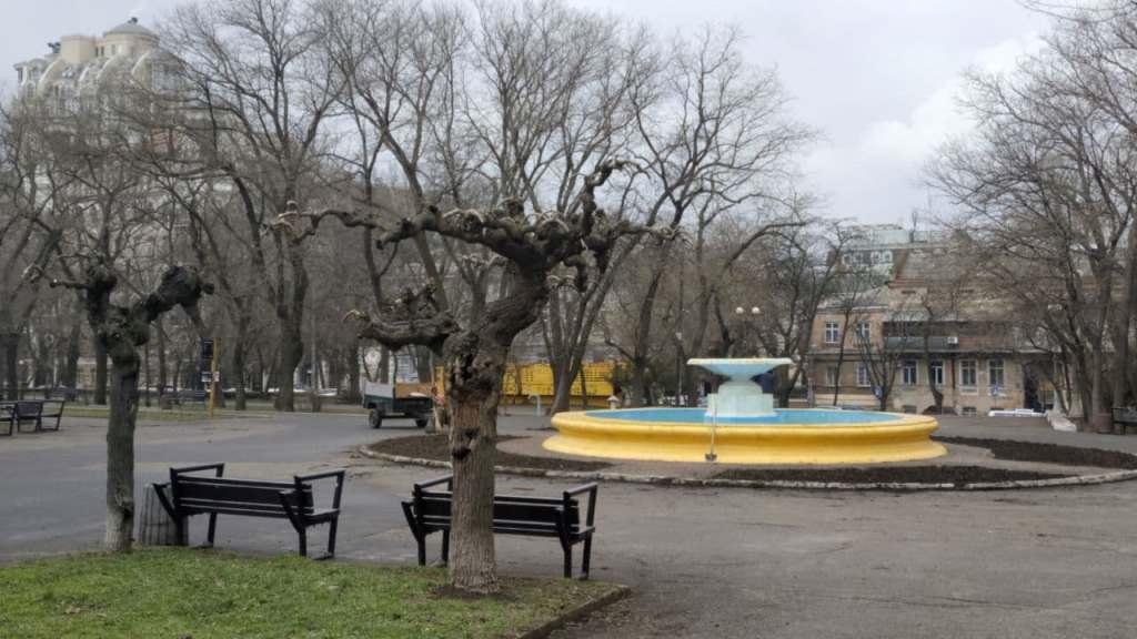 одесский парк Шевченко