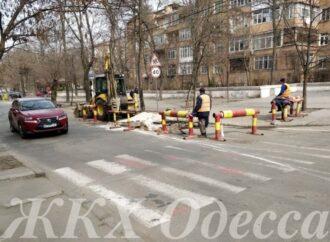 В Одессе ограничили проезд по Маразлиевской (фото)