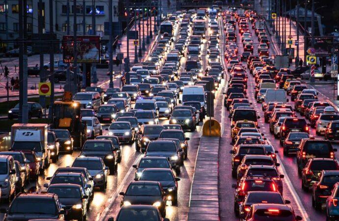 Пробки в Одессе: где затруднено движение транспорта 1 июня (карта)
