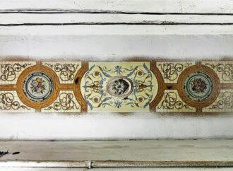 В одесском «доме с иллюминаторами» начали восстанавливать старинную роспись потолка