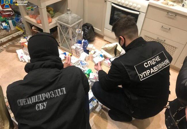 В Одессе блокировали контрабанду психотропов из России
