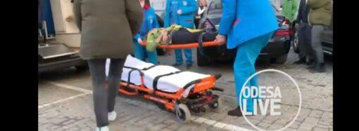 В Одессе мужчина выпал с 23-го этажа и остался живым (видео)