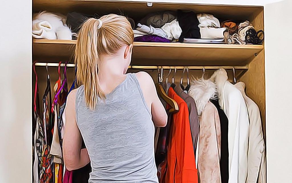 упаковать зимнюю одежду