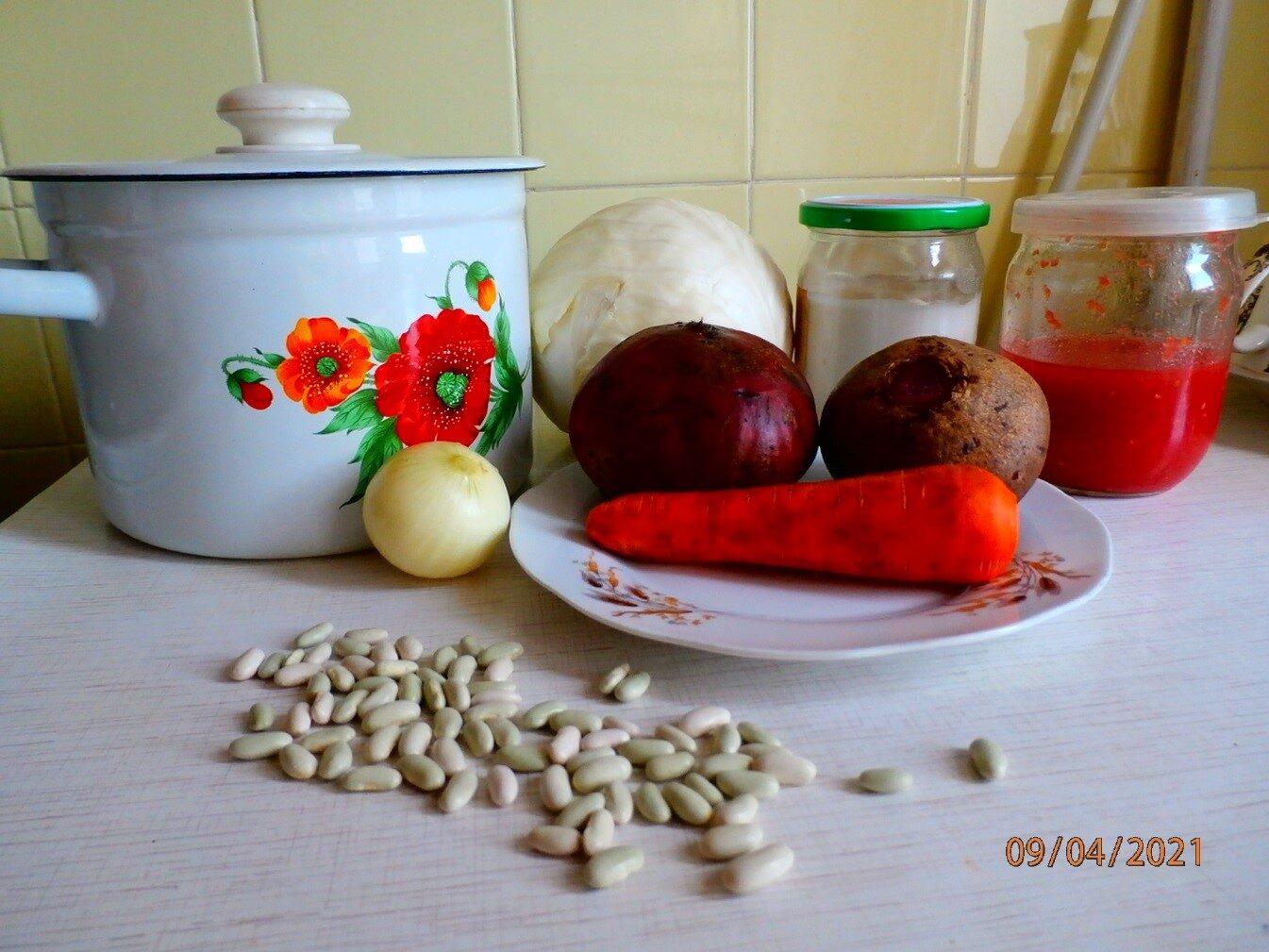рецепт борща