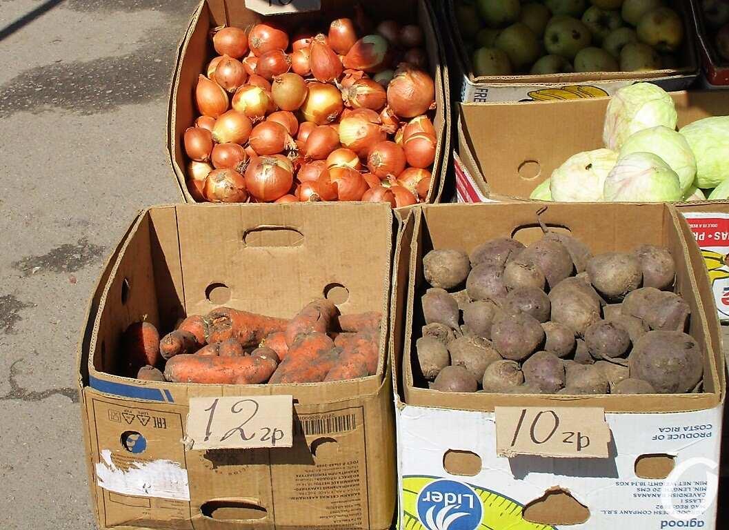 Новый базар, лук, картошка