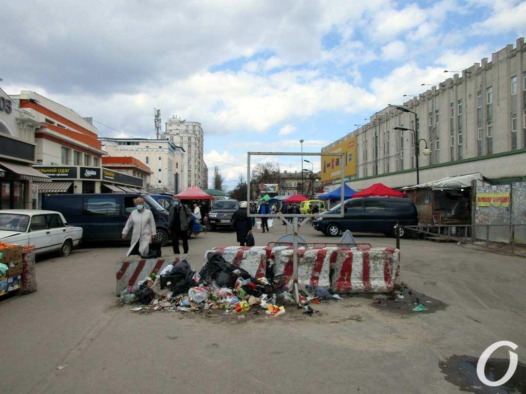 Екатерининская, мусор