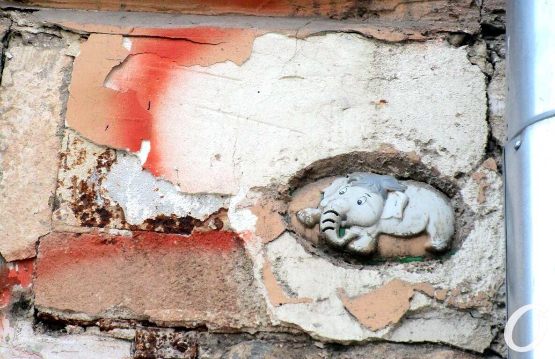Дом на Коблевской, слоник