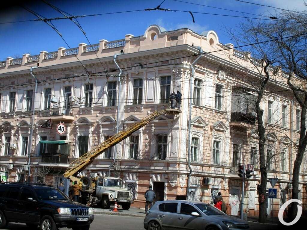 Дом на Пастера, ремонт фасада