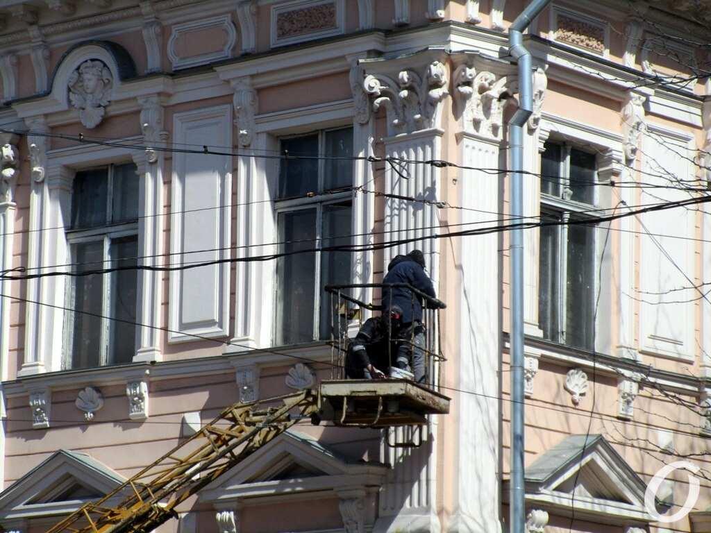 Дом на Пастера, ремонт фасада2