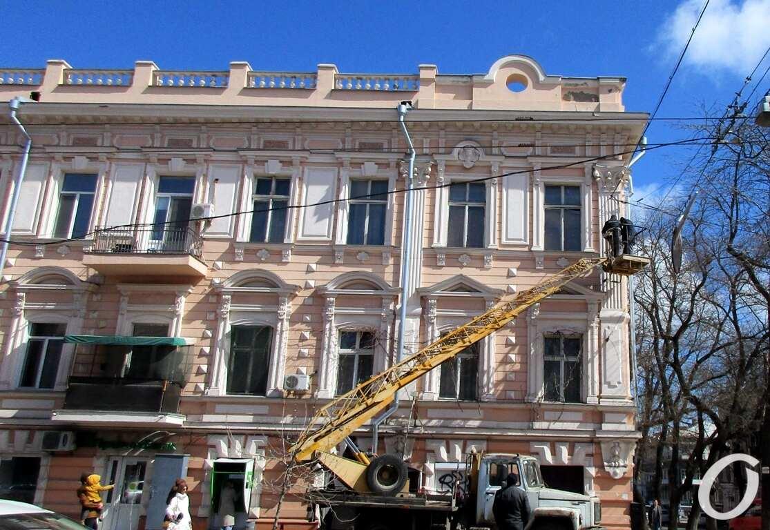 Дом на Пастера, ремонт фасада4