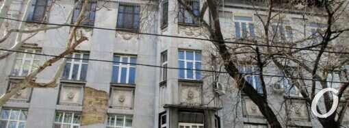 Новая жизнь старой Одессы: «мистический дом» в черно-серых тонах (видео)