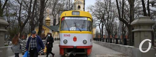 Одесский трамвай №12 снова следует до Алексеевской площади