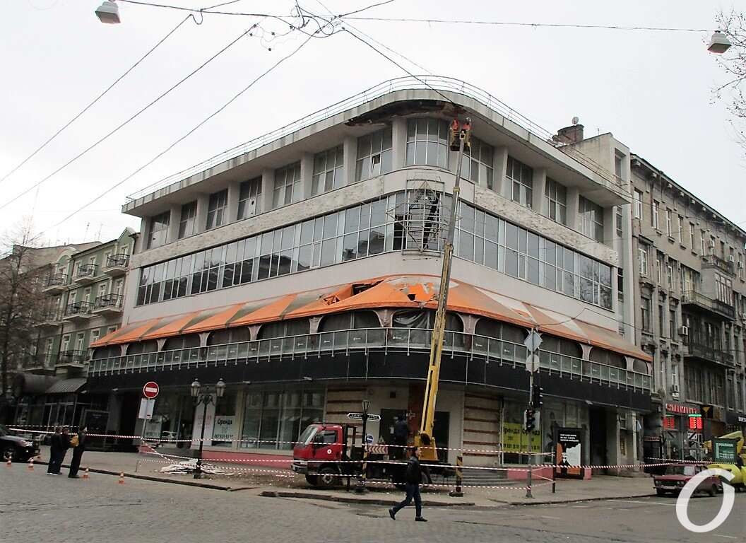 Грох в центре Одессы8