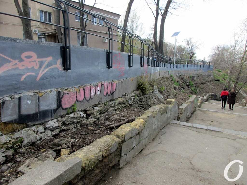 склоны под бульваром Жванецкого