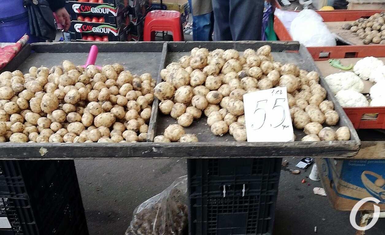 Привоз, картошка