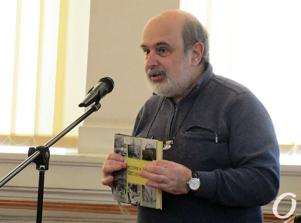 краевед и автор книги Евгений Волокин