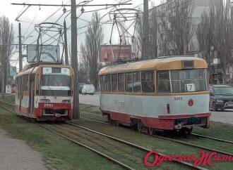 Одесса после стихии: как ходит общественный транспорт?