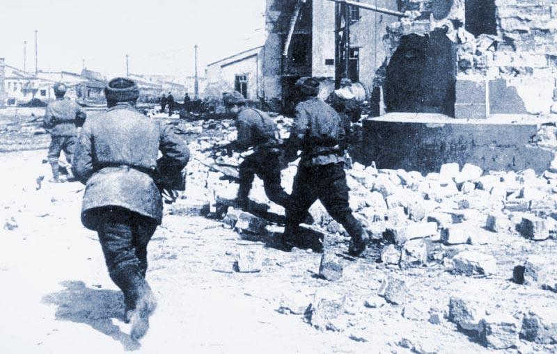 освобождение бои в Одессе
