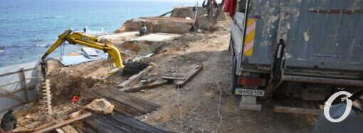 В Одессе уничтожили одно из красивейших мест на пляже в старой Аркадии – активист (видео, фото)