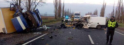 В Николаевской области в ДТП попала машина с телами умерших от коронавируса (видео)
