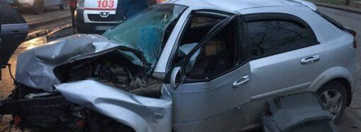 ДТП на Мельницкой в Одессе оказалось смертельным (фото, видео)