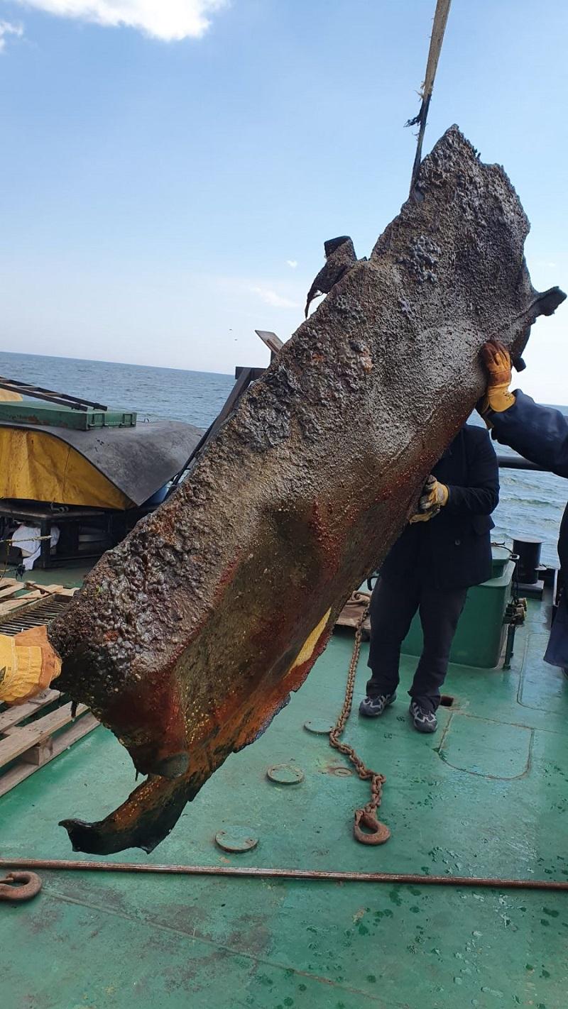 остатки танкера Делфи