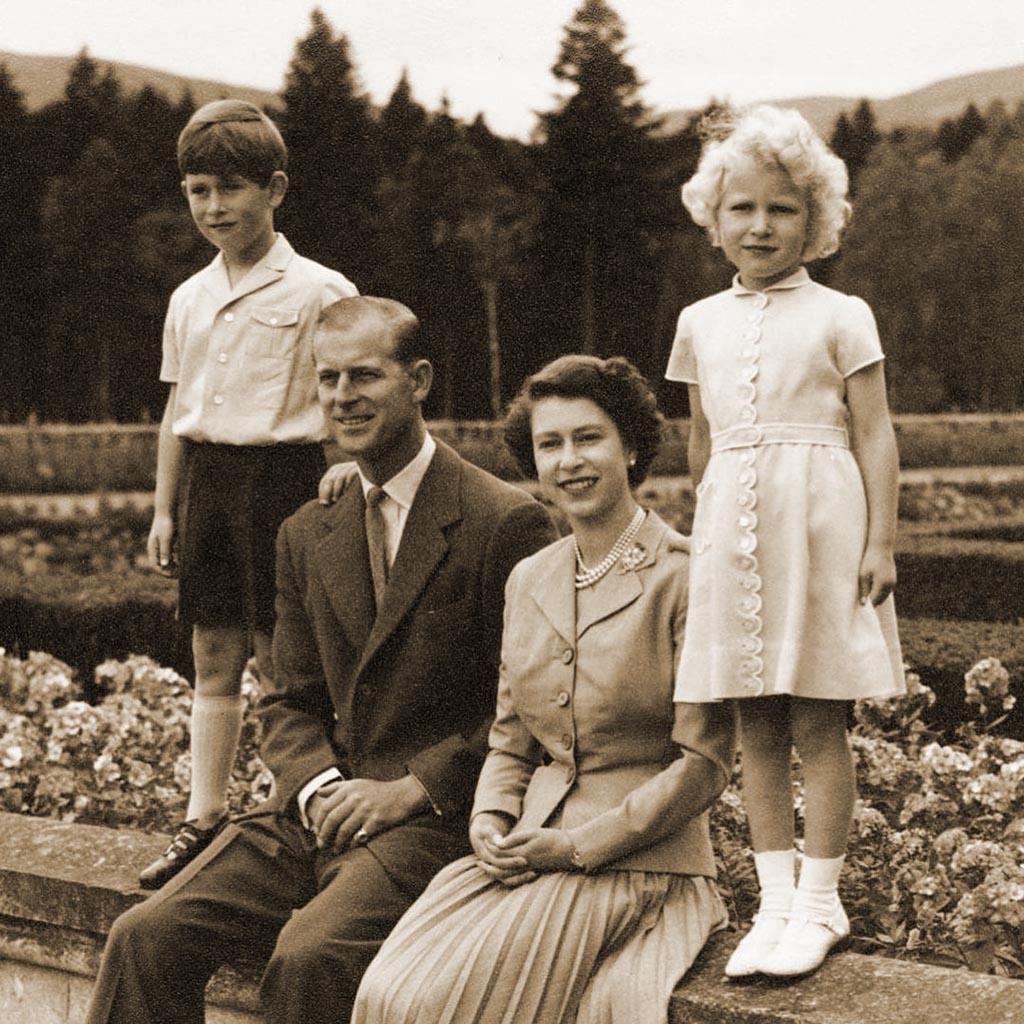 Елизавета ІІ принц Филипп 3