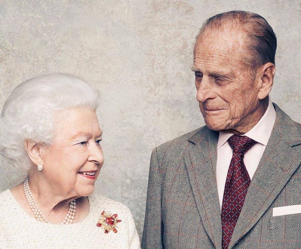 Елизавета ІІ принц Филипп.