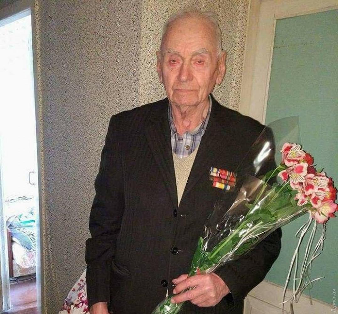 ветеран-освободитель Евгений Ахлупин